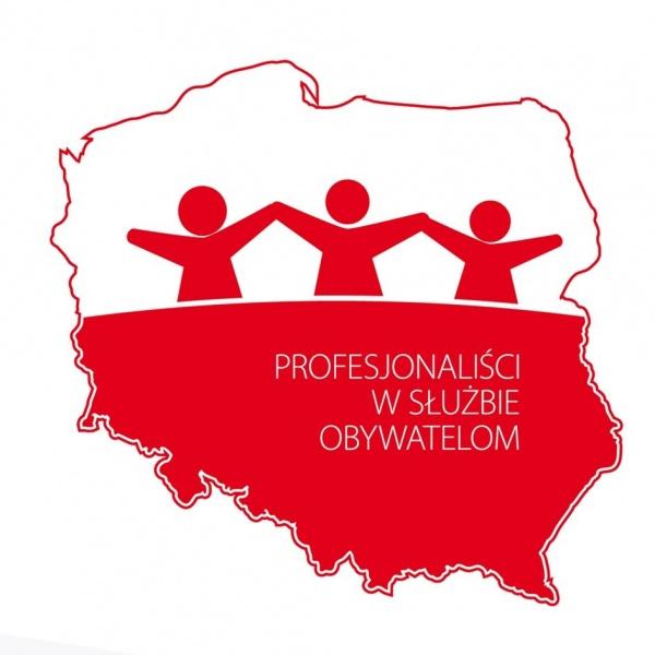 Logo konkursu Profesjonaliści w Słuzbie Obywatelom